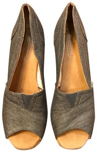 d03a3e17722 Blue TOMS Wedges - Up to 90% off at Tradesy