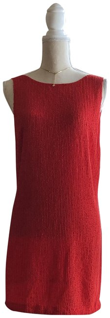 Free People Red Short Night Out Dress Size 8 (M) Free People Red Short Night Out Dress Size 8 (M) Image 1