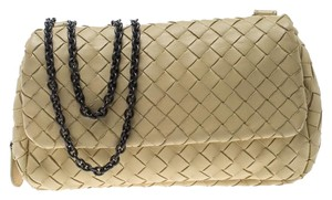 Bottega Veneta Leather Suede Cross Body Bag