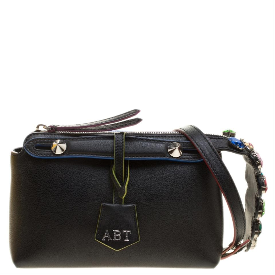 a81c1498d9 Fendi Mini By The Way Black Leather Cross Body Bag - Tradesy