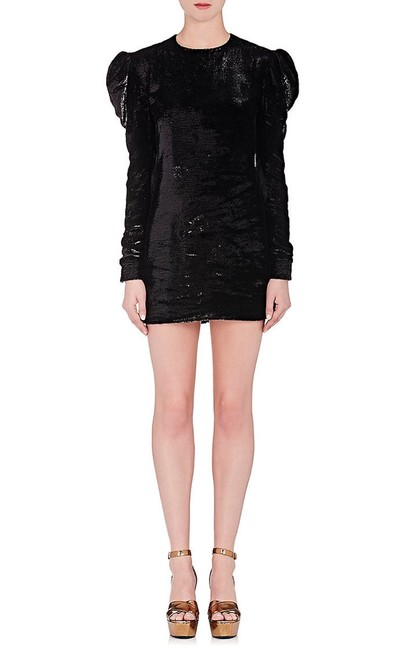 Item - Black Women's Long-sleeve Cocktail Soulders Short Night Out Dress Size 4 (S)