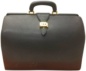 Hermès Weekender Gift Professional Wedding Carry On Luggage College Laptop Graduation Birthday Satchel in black
