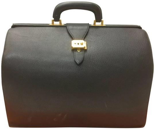 Preload https://img-static.tradesy.com/item/24873713/hermes-travel-boston-speedy-style-handbag-vintage-unisex-black-leather-satchel-0-1-540-540.jpg