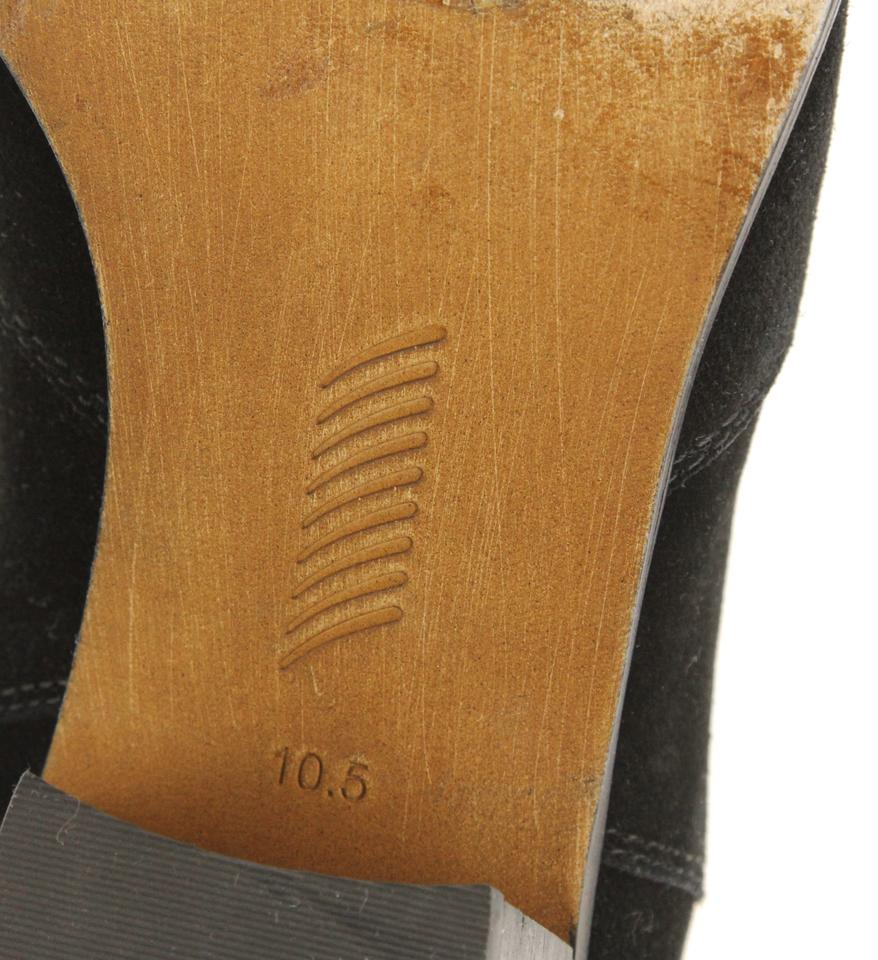 64ad26b64681c Paige Black Willa Suede Chelsea Boots Booties Size US 10.5 Wide (C ...