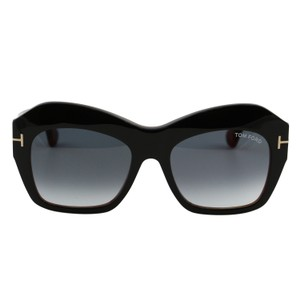 1a66234b7cb97 Tom Ford New Tf Emmanuelle Ft-0534 Women Square Thick Frame T-logo  Sunglasses