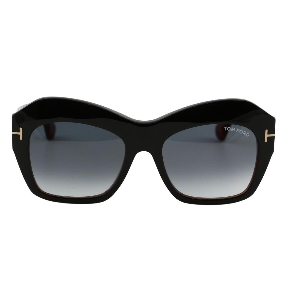 70466087eed Tom Ford New Tf Emmanuelle Ft-0534 Women Square Thick Frame T-logo  Sunglasses ...
