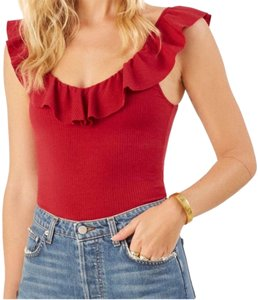 Reformation Top cherry