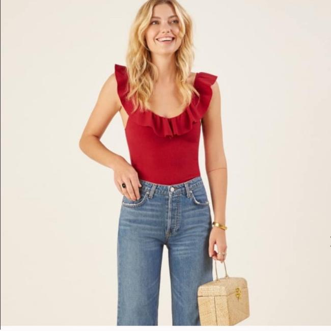Reformation Top cherry Image 2