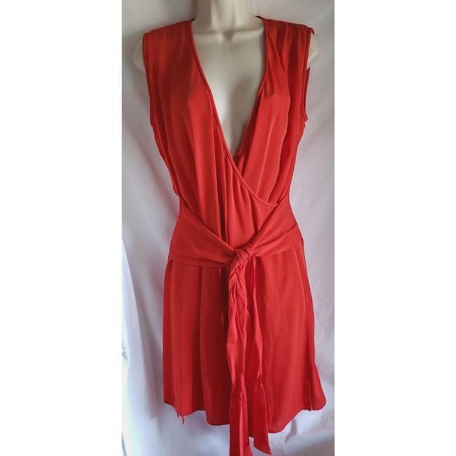 Diane von Furstenberg short dress Red on Tradesy Image 0
