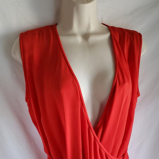 Diane von Furstenberg short dress Red on Tradesy Image 2