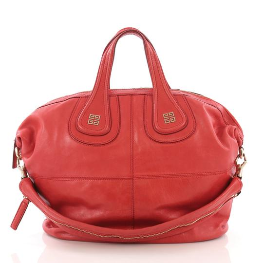 Givenchy Leather Satchel in Red Image 0