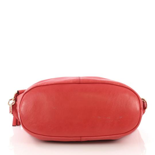 Givenchy Leather Satchel in Red Image 4