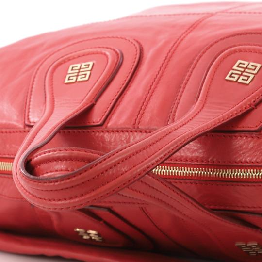 Givenchy Leather Satchel in Red Image 5