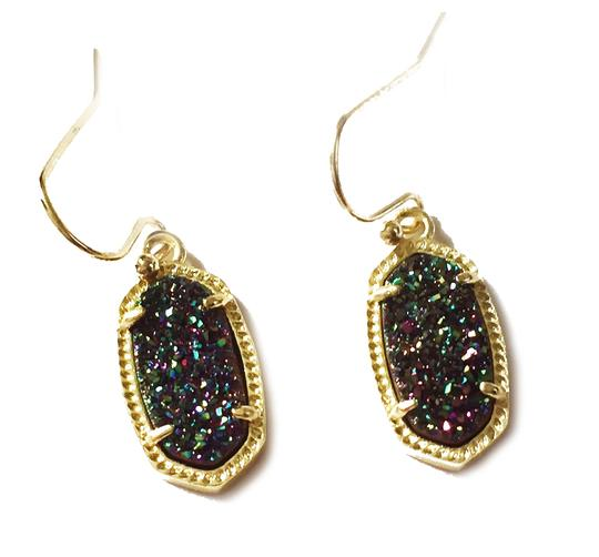 Preload https://img-static.tradesy.com/item/24874286/kendra-scott-gold-lee-drop-multi-color-drusy-earrings-0-0-540-540.jpg