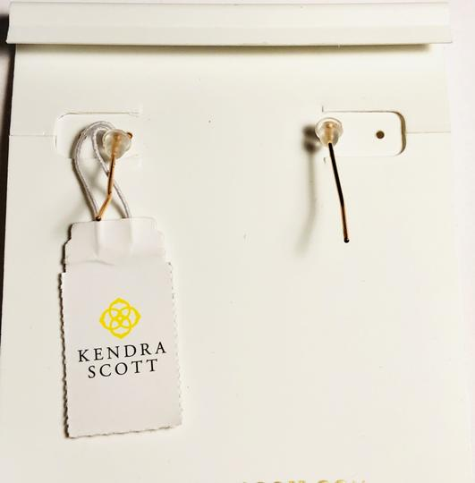 Kendra Scott Gold Lee Drop Multi Color Drusy Earrings Image 6
