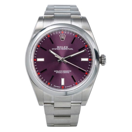 Rolex Rolex Oyster Perpetual 114300 39mm Red Grape Dial Image 2