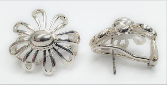 Tiffany & Co. Tiffany & Co. Paloma Picasso 0.925 Sterling Silver Daisy Flower Earrin Image 2