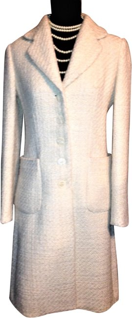 Banana Republic Tweed Wool Button Up Pea Coat Image 1