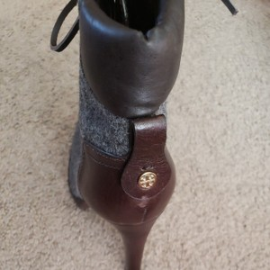 Tory Burch Charcoal/brown Boots