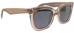 Kenneth Cole KC7210-72A-52 Square Women's Pink Frame Grey Lens Sunglasses