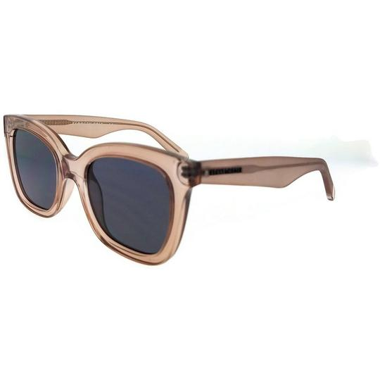 Kenneth Cole KC7210-72A-52 Square Women's Pink Frame Grey Lens Sunglasses Image 1