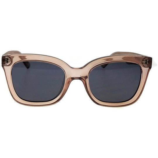 Kenneth Cole KC7210-72A-52 Square Women's Pink Frame Grey Lens Sunglasses Image 2