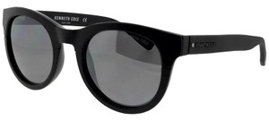 Kenneth Cole KC7211-01C-52 Cat Eye Women's Black Frame Grey Lens Sunglasses