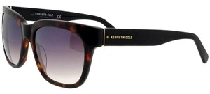 Kenneth Cole KC7219-52B-55 Full Rim Women's Havana Frame Smoke Lens Sunglasses