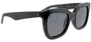 Kenneth Cole KC7210-01A-52 Cat Eye Women's Black Frame Smoke Lens Sunglasses