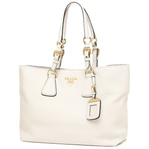 White Prada Bags - Up to 90% off at Tradesy 31634affa5