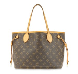 Louis Vuitton Neverfull Monogram Tote in Brown