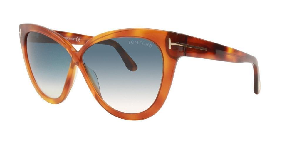 2a3f6f62f2 Tom Ford 53w Blonde Havana   Gradient Blue Ft0511 Tf0511 Arabella Sunglasses