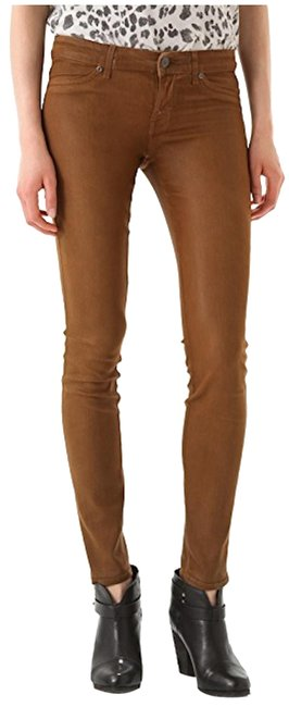 Item - Mustard Coated Legacy Skinny Jeans Size 27 (4, S)