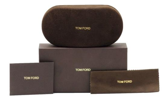 Tom Ford Tom Ford FT0514 ISLAY 52W Dark Havana / Gradient Blue Sunglasses Image 2