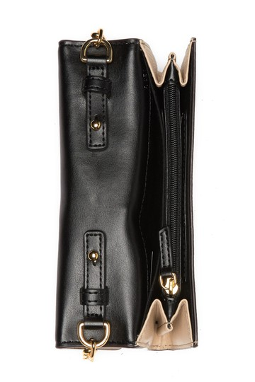 Marc Jacobs Empire City Card Slots Leather Snap Closure Cross Body Bag Image 1