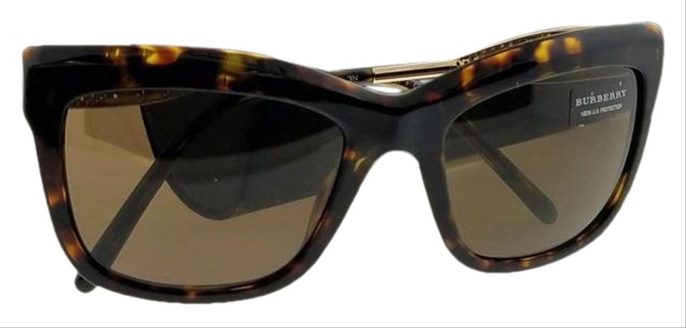 b89dc8eecdcf Burberry Be4207-300273-56 Wayfarer Women s Havana Frame Brown Lens  Sunglasses