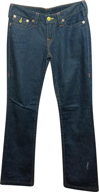 Preload https://img-static.tradesy.com/item/24875203/true-religion-blue-dark-rinse-stretch-cotton-blend-denim-men-s-straight-leg-jeans-size-30-6-m-0-1-650-650.jpg