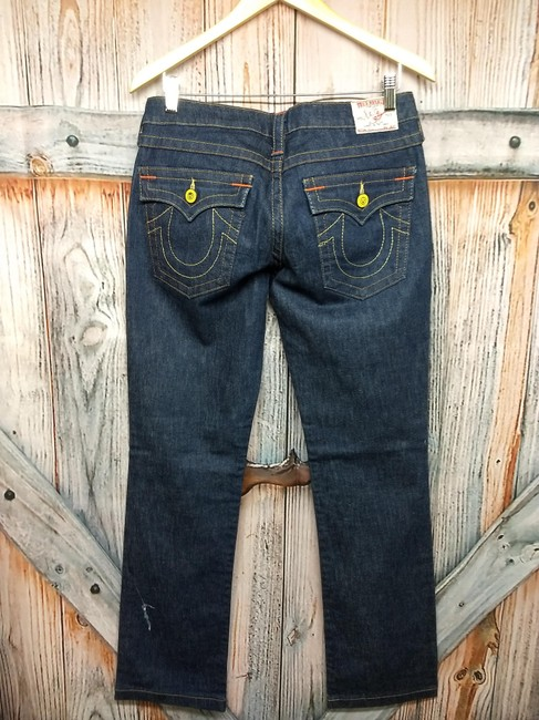 True Religion Straight Leg Jeans-Dark Rinse Image 1