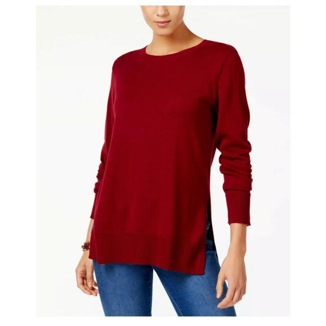 Preload https://img-static.tradesy.com/item/24875463/style-and-co-crew-neck-cotton-cranberry-red-sweater-0-0-650-650.jpg