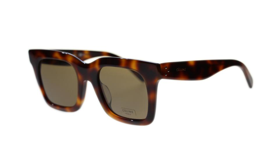bbccea8051f2 Céline Havana Brown Luca Women's Cl41411 Sunglasses - Tradesy