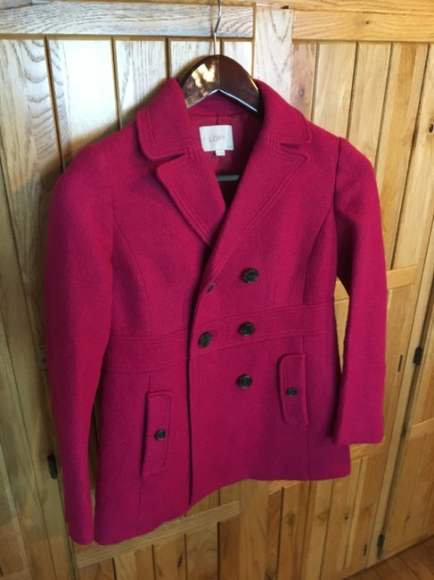 Ann Taylor LOFT Double Breasted Pea Coat Image 3