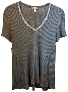 Juicy Couture Rayon Spandex T Shirt Olive Green