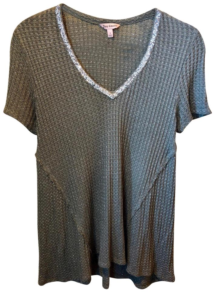268af0a4 Juicy Couture Rayon Spandex T Shirt Olive Green Image 0 ...