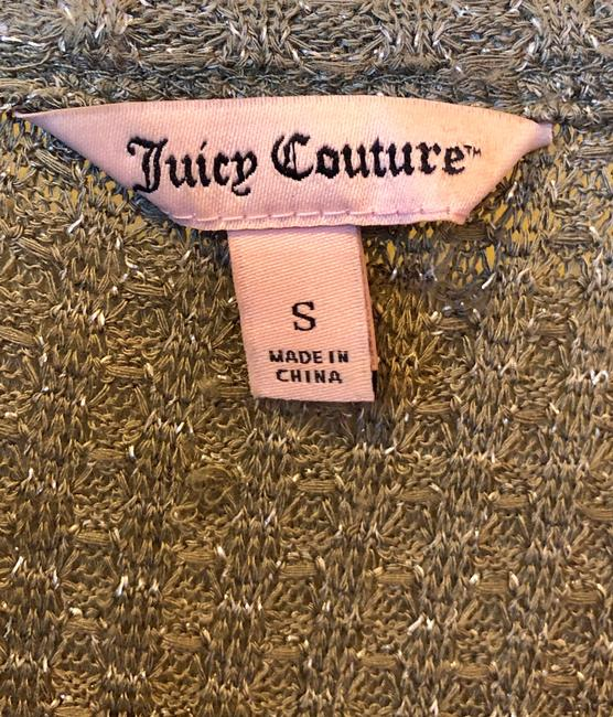 Juicy Couture Rayon Spandex T Shirt Olive Green Image 3