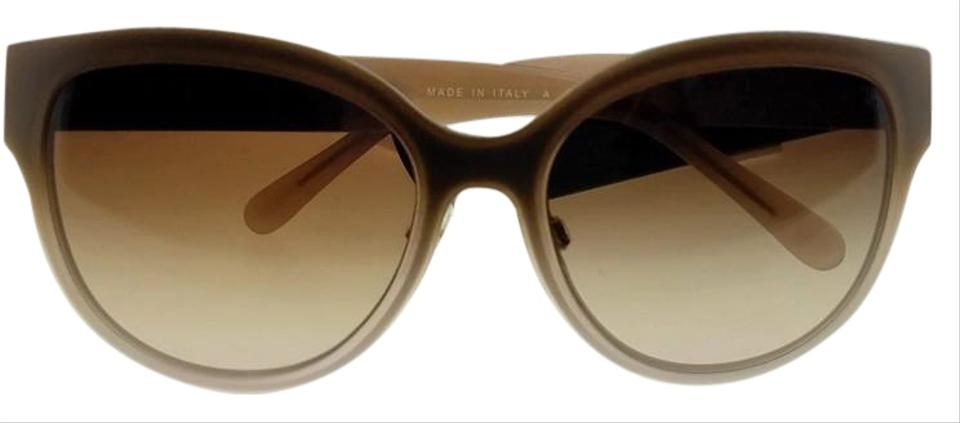 4676ae664751f Burberry Be3087-114513-57 Oval Women s Gold Frame Brown Lens Genuine  Sunglasses