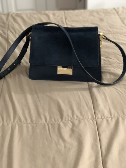 Vince Camuto Suede Leather Cross Body Bag Image 1