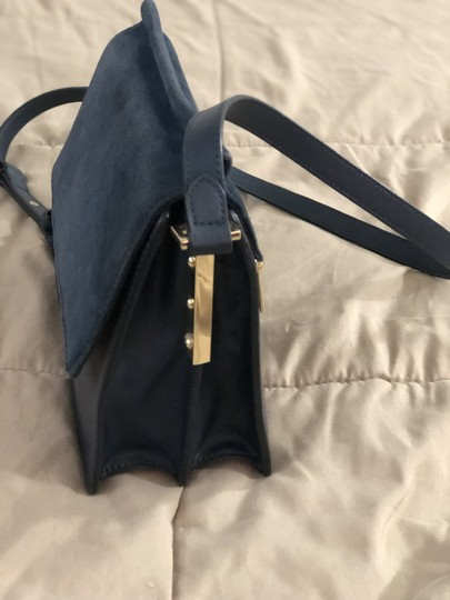 Vince Camuto Suede Leather Cross Body Bag Image 4