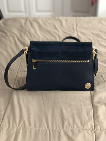 Vince Camuto Suede Leather Cross Body Bag Image 5