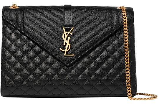 Preload https://img-static.tradesy.com/item/24875933/saint-laurent-large-quilted-envelope-ships-next-day-black-textured-leather-shoulder-bag-0-1-540-540.jpg