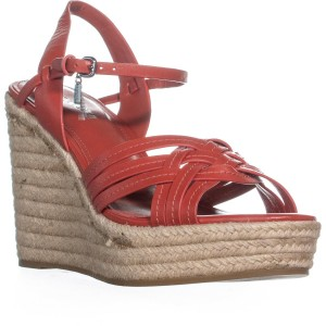 Coach Red Wedges